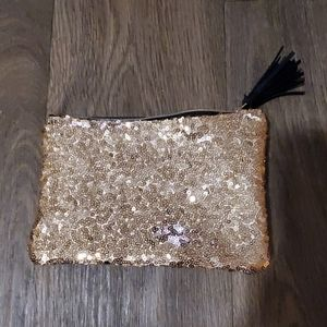 Sequin Makeup Bag